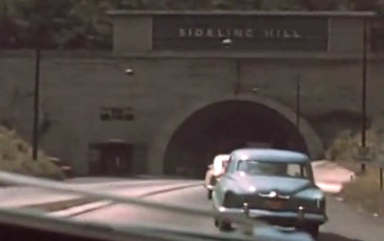 Sideling Hill Tunnel in 1953
